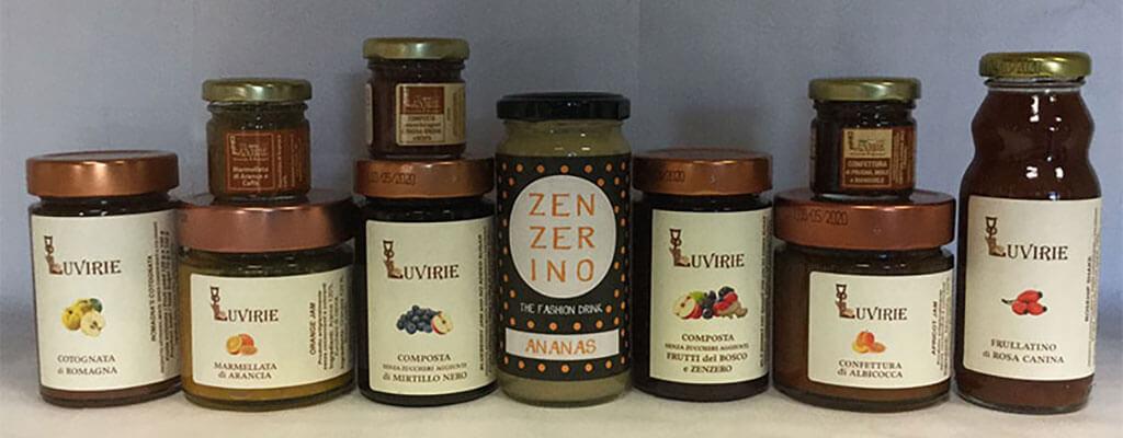 Zenzero in Cucina, Luvirie Romagna