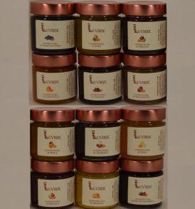 Confetture Artigianali, vasetti 240 gr. Luvirie Romagna