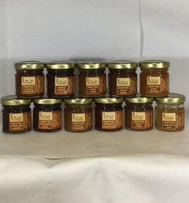 Degustazione Confetture Bomboniere 40 gr, Luvirie Romagna