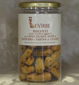 Biscotti Cioccolato e Semi di Papavero, Luvirie Romagna
