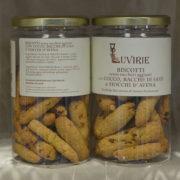 Biscotti Cocco, Bacche Goji e Fiocchi Avena, Luvirie Romagna