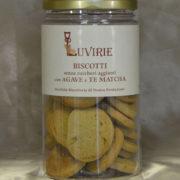 Biscotti Agave e Te Matcha, Luvirie Romagna