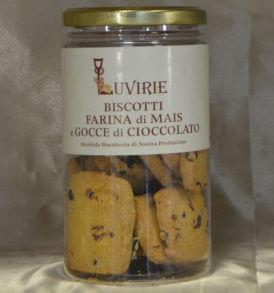 Biscotti Gocce Cioccolato e Farina Mais, Luvirie Romagna
