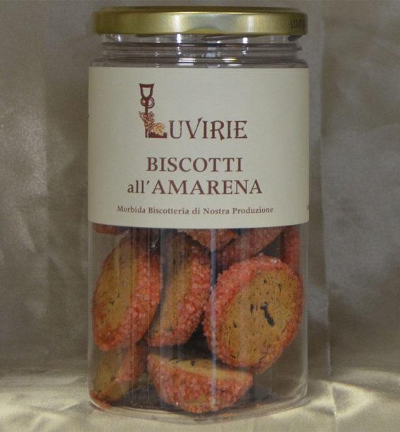 Biscotti Morbidi all'Amarena, Luvirie Romagna