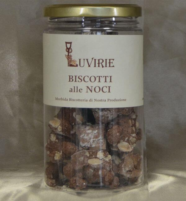 Biscotti Morbidi alle Noci, Luvirie Romagna