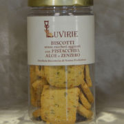 Biscotti Pistacchio Aloe e Zenzero, Luvirie Romagna