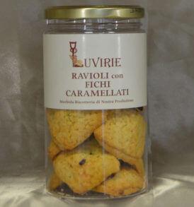 Biscotti Ripieni ai Fichi Caramellati, Luvirie Romagna