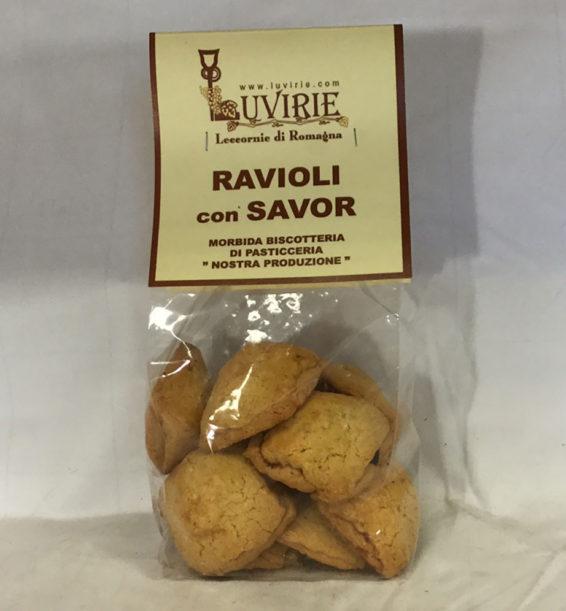 Biscotti al Savor, ripieni Mele Cotogne, Luvirie Romagna