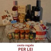 Cesto Idea Regalo, Per Lei, Luvirie Romagna