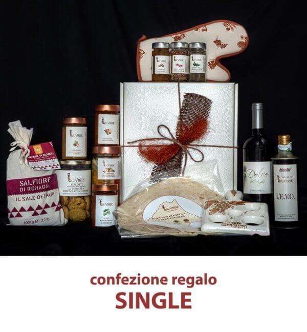Cesto idea regalo: Single, Luvirie Romagna