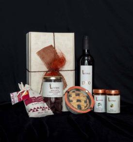 Cesto natalizio alimentare: Gioie di Romagna, Luvirie