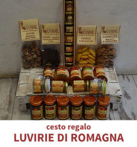Cesto Natalizio Prodotti Tipici, Luvirie di Romagna