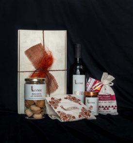 Cesto regalo alimentare Delizie di Romagna, Luvirie