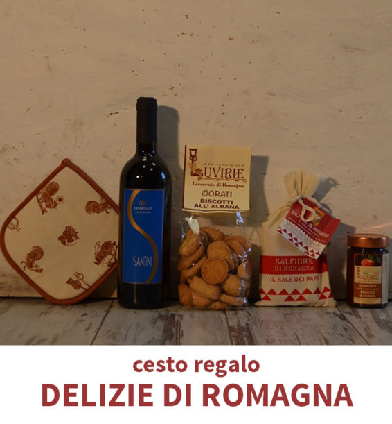 Cesto Regalo Alimentare, Delizie di Romagna, Luvirie