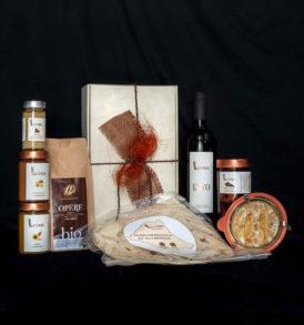 Cesto regalo Natale: Piaceri di Romagna, Luvirie