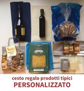Cesto Regalo Personalizzato Prodotti Tipici, Luvirie Romagna