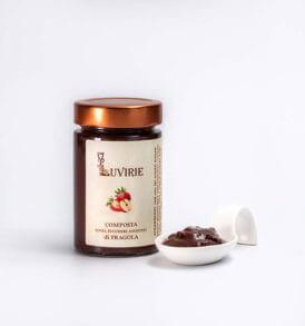 Composta di Fragole senza zucchero, Luvirie Romagna
