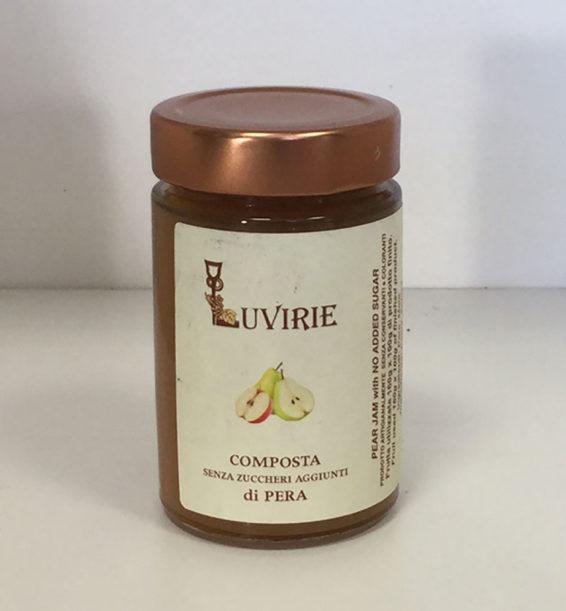 Composta di Pere senza zucchero, Luvirie Romagna