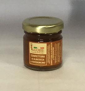 Confettura Albicocche e Peperoncino, Luvirie Romagna