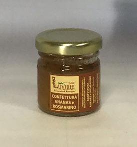 Confettura Ananas e Rosmarino, Luvirie Romagna