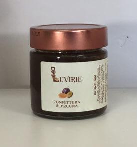 Confettura di Prugne, Luvirie Romagna