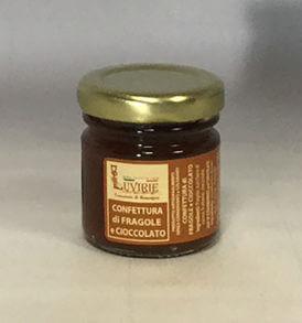 Confettura Fragole e Cioccolato, Luvirie Romagna