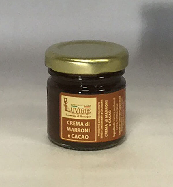 Confettura Marroni e Cacao, Luvirie Romagna