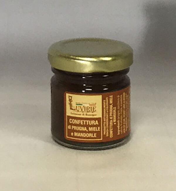 Confettura Prugne Miele e Mandorle, Luvirie Romagna