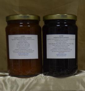 Confetture e Marmellate da Forno, Luvirie