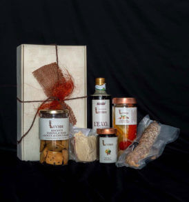 Confezione natalizia alimentare: Collina Romagnola, Luvirie