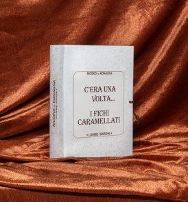 Confezione Libro Regalo: Ricordi di Romagna, con Fichi Caramellati