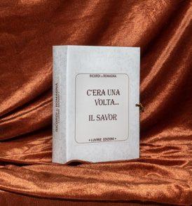 Confezione Libro Regalo: Ricordi di Romagna, con Savor