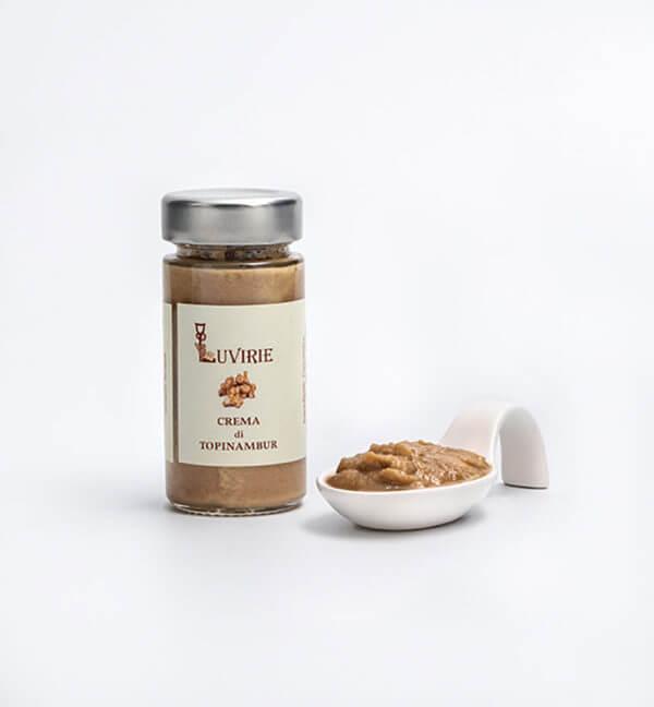 Crema di Topinambur, Produzione Artigianale Luvirie