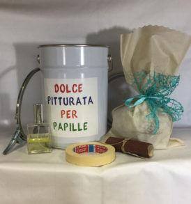 Dolce Pitturata, Regalo Panettone o Colomba, Luvirie