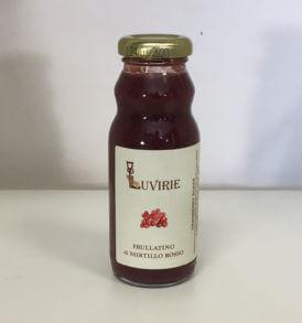 Frullato Mirtillo Rosso, Succo Concentrato, Luvirie Romagna