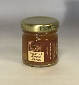 Gelatina di Vino Albana, Luvirie Romagna