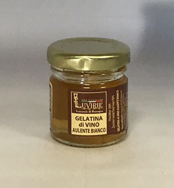 Gelatina di Vino Aulente Bianco, Luvirie Romagna