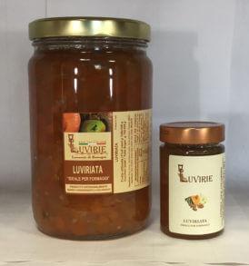 Luviriata Abbinamento Formaggi, Luvirie Romagna