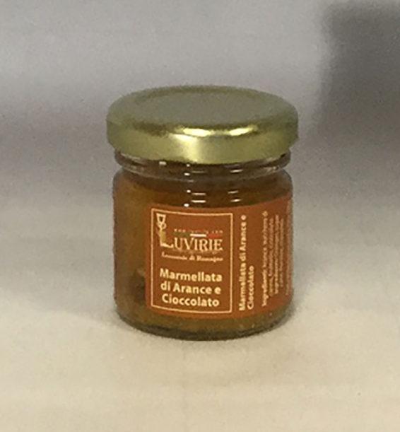 Marmellata Arance e Cioccolato, Luvirie Romagna