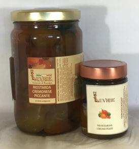 Mostarda Cremonese Piccante, Luvirie Romagna
