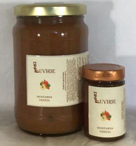 Mostarda Veneta Mele Cotogne, Luvirie Romagna