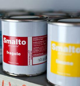 Smalti per Papille, Zucchero Aromatizzato Colorato, Luvirie