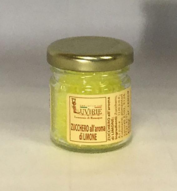Zucchero Aromatizzato al Limone, Luvirie Romagna
