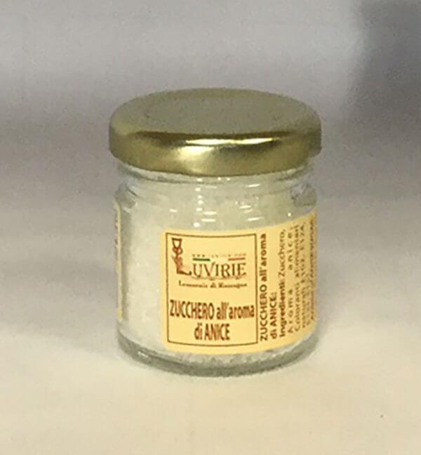Zucchero Aromatizzato all'Anice, Luvirie Romagna