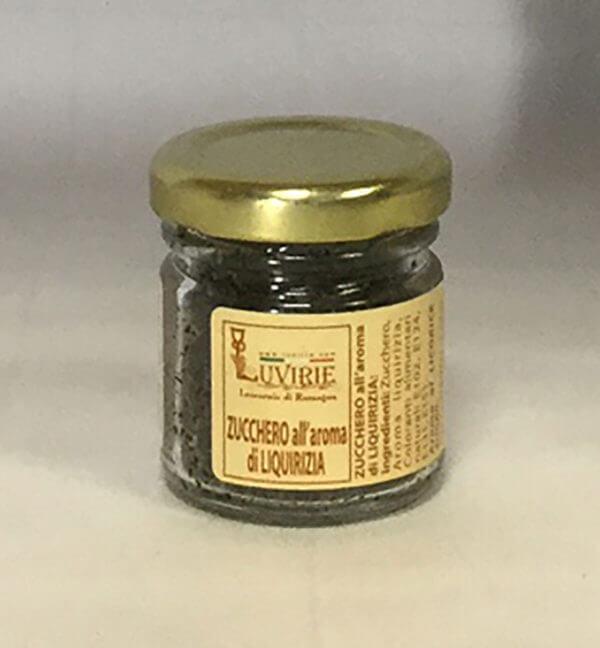 Zucchero Aromatizzato alla Liquirizia, Luvirie Romagna