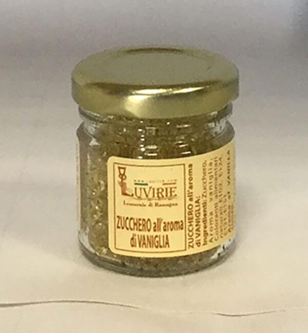 Zucchero Aromatizzato alla Vaniglia, Luvirie Romagna