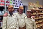 ROBERTO BERARDI, VITTORIO MARITANO, ANGELO GIANNINI I tre soci, ciascuno responsabile di un'area: magazzino e logistica, produzione, commerciale. Via Enzo Ferrari, 17 - 47838 Riccione (RN)