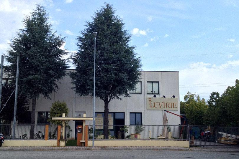 Luvirie Romagna, Sede Riccione, Zona Artigianale